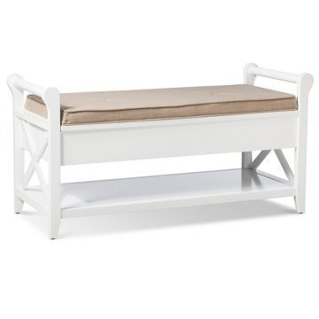 Vincent Entryway Bench Wood - Threshold™