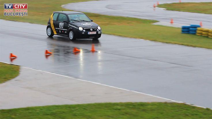 autoslalom pe ploaie!!!!!