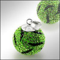 PV7062SWSS Strieborný prívesok so Swarovski krištálmi zelený strieborný prívesok  #supersperky #krasnesperky