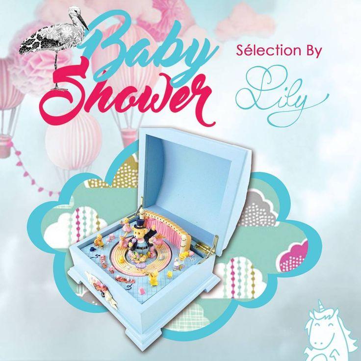 C'est le moment des Baby-Showers ! Une boîte à bijoux et accessoires musicale pour bébé ! #bebe #babyshower #baby #bijoux #rose #bleu #musique #boiteabijoux #coffret #rangement #chambre #deco #bienetre #lily #love  http://www.lestresorsdelily.com/pages-events-lily