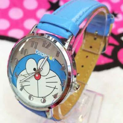 TOKO SOUVENIR ONLINE: jam tangan doremon