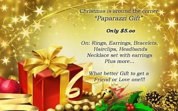 Did you know that Paparazzi Jewelry makes GREAT stocking stuffers? That's right ... At just $5.00 a piece you can't go wrong! Lots of new pieces in stock with more on the way!   Bella's $5.00 Boutique at http://facebook.com/BellasBoutique
