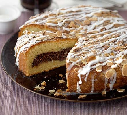 Double chocolate Easter Danish. Everyone loves a Danish pastry, especially when it's chocolaty and big enough to share
