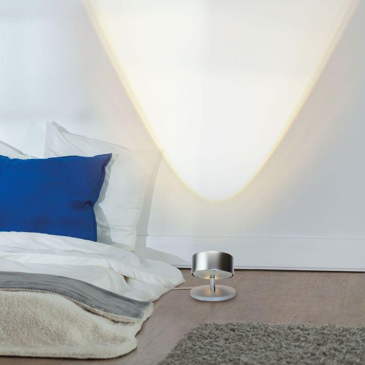 Popular Puk Spot LED Tischleuchte Linse nickel matt Jetzt bestellen unter https moebel ladendirekt de lampen tischleuchten beistelltischlampen uid udb ea