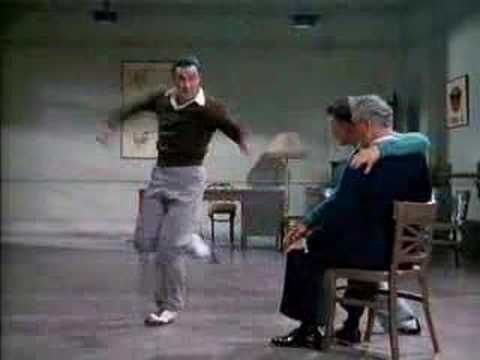 Only the best dance routine ever. one of my favorite dance scenes in a film. can't help but smile. I wish movies like SITR were still made and that Gene Kelly was still alive and dancing!