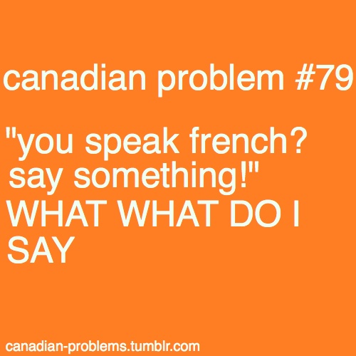LOL... so maybe people ask me to say something.... what DO you want me to say???