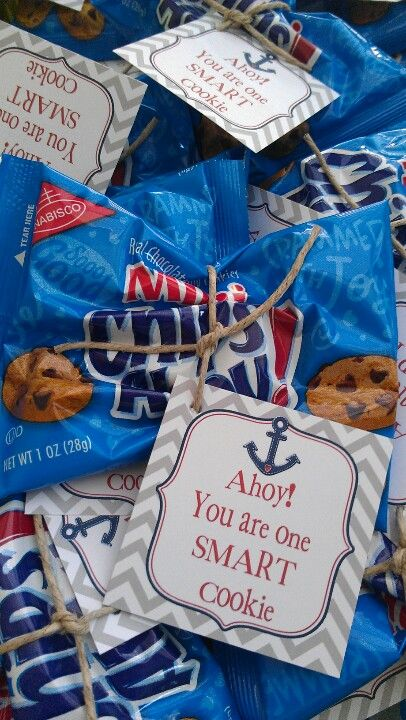 Nautical chips ahoy teacher appreciation