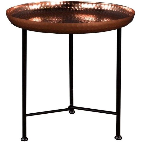 Moroccan Side Table with Copper Removable Top ($7,435) ❤ liked on Polyvore featuring home, furniture, tables, accent tables, moroccan table, moroccan end table, moroccan furniture, moroccan side table and moroccan style furniture