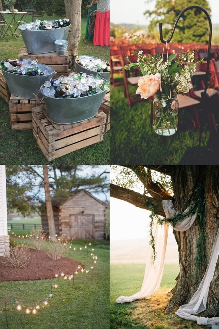 Looking for a way to get married at home? Some backyard wedding ideas might be a great way to get started planning a fun outdoor wedding that's easy on the wallet. A backyard wedding creates opportunities that are often overlooked when planning your wedding. The controlled environment creates the opportunity to make your wedding day a truly memorable day with a little bit of imagination and preparation.