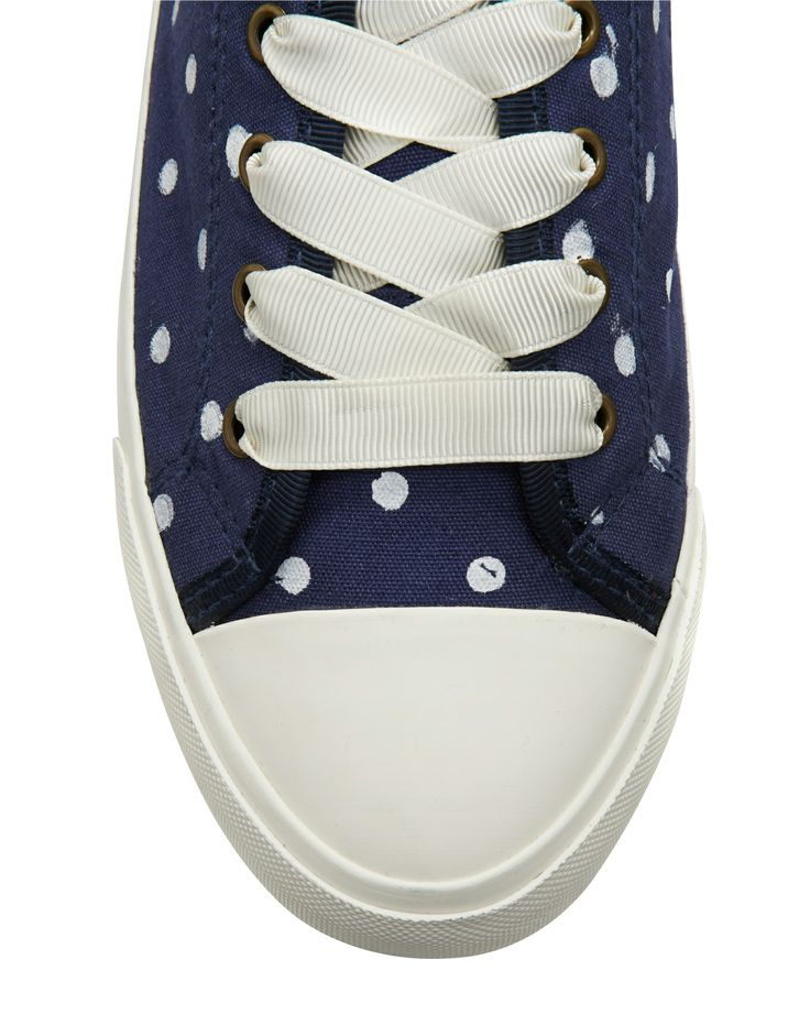 Gorgeous Dotty Shoes, Nautical Theme, Bang on Trend for Spring!