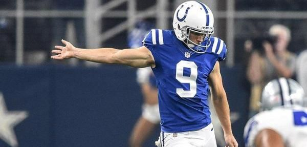 The Indianapolis Colts released veteran punter Jeff Locke on Monday, likely turning the job over to undrafted rookie Rigoberto Sanchez.