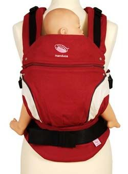 WORLDWIDE FREE SHIPPING  $119.99 MANDUCA BABY CARRIER- RED  with box and manual  YOU CAN FIND THE MANDUCA NEW STYLE CARRIER IN 5 COLORS IN OUR SHOP.  Please leave us message after the order what colour need y