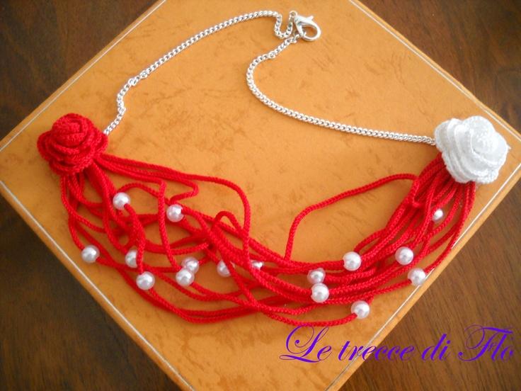 """""""Enza"""" necklace crochet"""