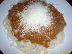 NEJLEPŠÍ směs na špagety - za 30minut hotovo - opravdu ŽRACÍ - hrozí ZÁVISLOST :D