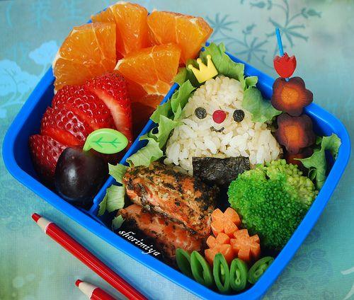 Happy Little Bento: King Musubi Bento