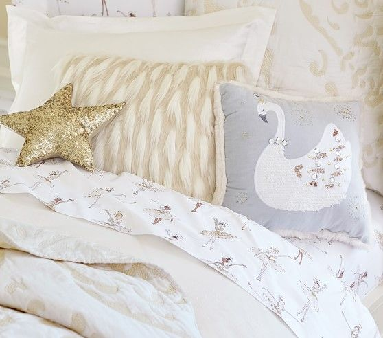Adrienne Embroidered Quilted Bedding #pbkids