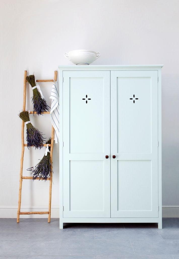 We love the 'Petal' cutouts on this deVOL Upright Cupboard.