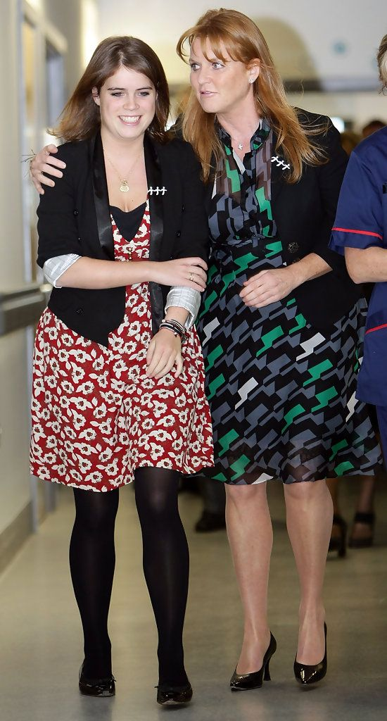 Princess Eugenie of York with her mother, Sarah, Duchess of York