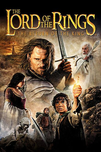 lotr return of the king film poster - Google Search
