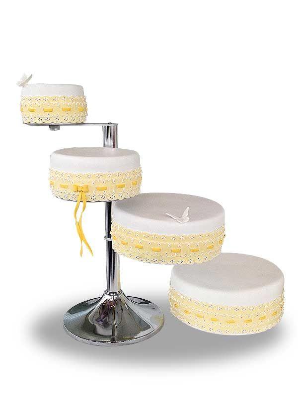 PuurTaart :: Taartengalerij - Bruidstaart - Wedding cake Quatro Magnifico
