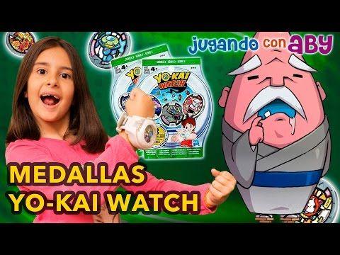 VUELVE YO-KAI WATCH. Medallas Serie 3. Figura Abuzampa. SERIES 1 y 2 COMPLETAS! - YouTube