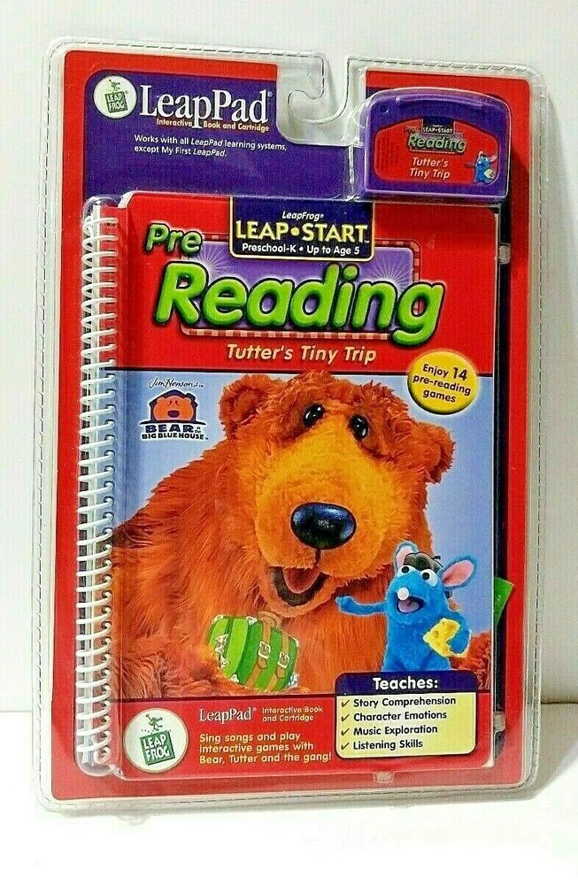 Details About Leap Pad Pre Reading Tutter S Tiny Trip Game Book