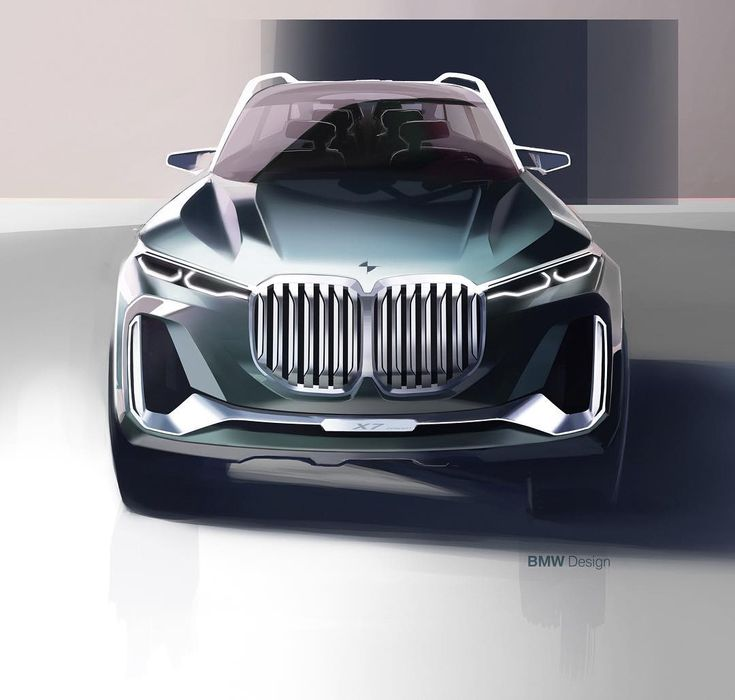 BMW X7 iPerformance official sketch #cardesign #car #design #carsketch #sketch #bmw #bmwx7 #conceptcar #bmwfans