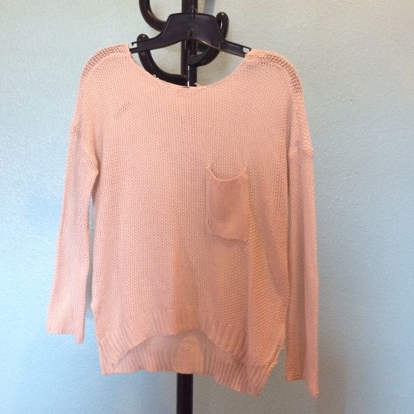 Knit cream long sleeve top knit cream long sleeve top. Never worn. Brand new Poof! Tops