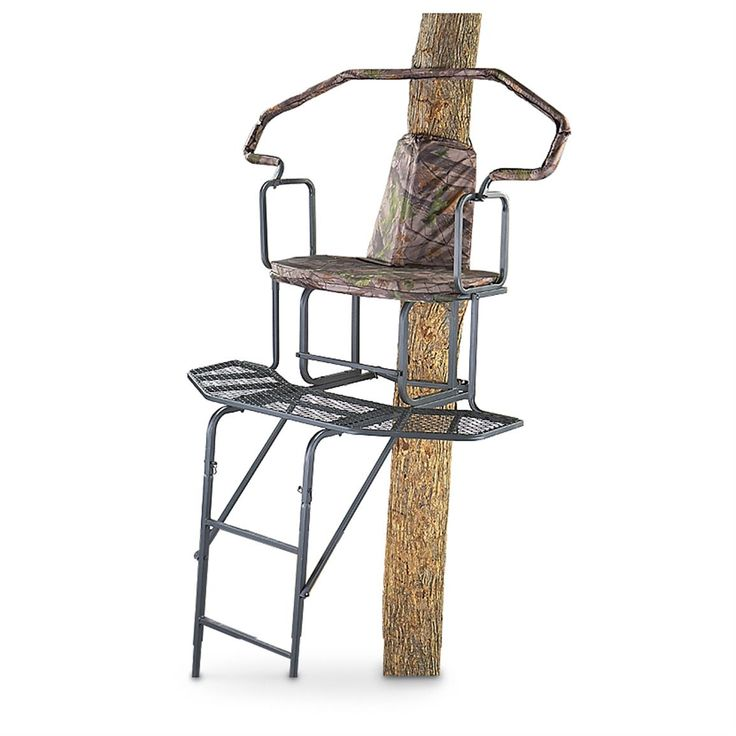 Guide Gear 16' Wraparound 2-man Ladder Stand - 158969, Ladder Tree Stands at Sportsman's Guide