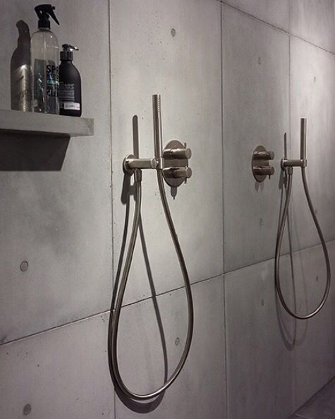 17 beste ideeën over Betonnen Douche op Pinterest  Beton badkamer, Rustieke  # Cielo Wasbak_004145
