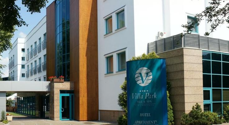 Villa Park Med. & SPA Ciechocinek Villa Park is a spa hotel, located at the Park Zdrojowy, in the centre of Ciechocinek resort. It offers spacious Med & Spa facilities, a large garden with a café and modern rooms with free WiFi.