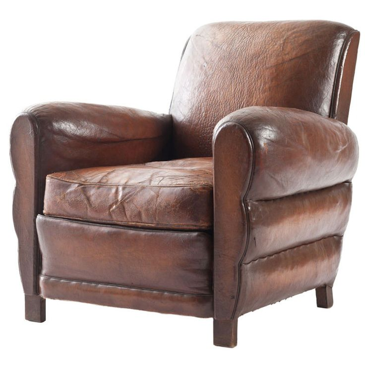 Best FAUTEUIL CLUB Images On Pinterest Art Deco Furniture - Comfy leather armchair for readers