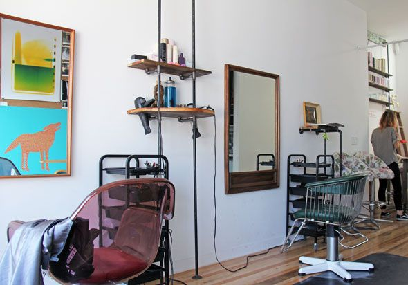 """Lebel and Crowe - A new West Queen West hair salon: """"We wanted it to feel like going to a friend's apartment"""" (793 Queen St West)"""