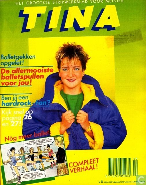 De Tina uit de jaren 80, had een abonnementje