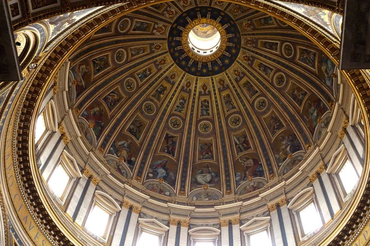 dome inside st peters