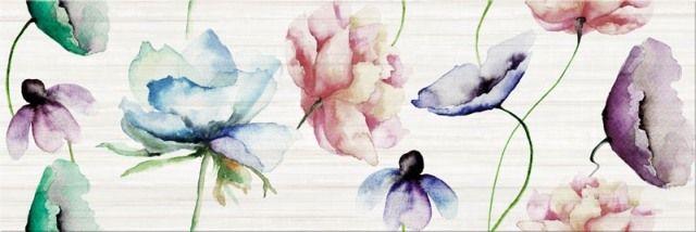Płytki Inserto Flower z kolekcji Elegant Stripes marki Opoczno