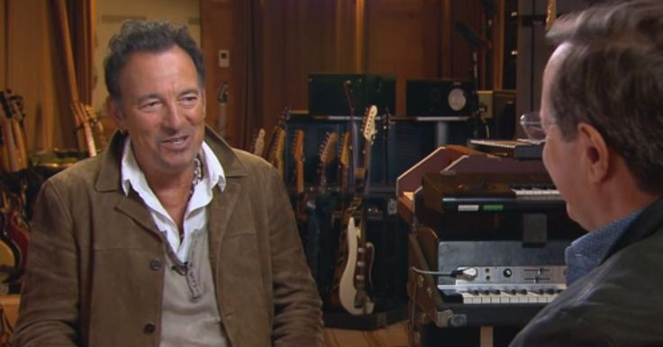 Bruce Springsteen discussed his bout with depression, Clarence Clemons and his upcoming autobiography 'Born to Run' on 'CBS Sunday Morning.'