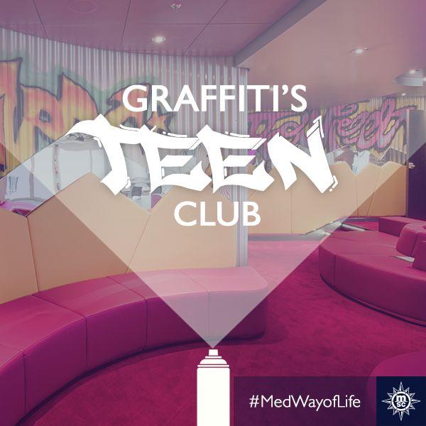 Heldere lounges voor levendige mensen. Breng kleur in het leven van jouw tiener met een cruise van MSC Cruises. #MSCPreziosa #MedWayofLife