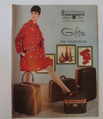 VINTAGE BANKHARDT'S 1960s CATALOG LUGGAGE SHOP GIFTS OF FASHION BANKHARDT   eBay