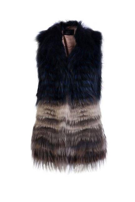 Yigal Arouel Fur Vest, Faux and Real Fur Vests 2012 - ELLE