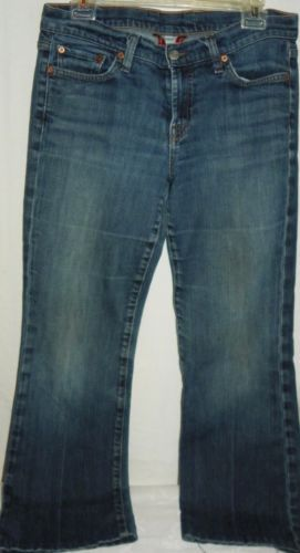 Womens-Lucky-Brand-Jeans-Henna-Sweet-N-Low-Reg-Inseam-10-30-Straight-Boot-Cut