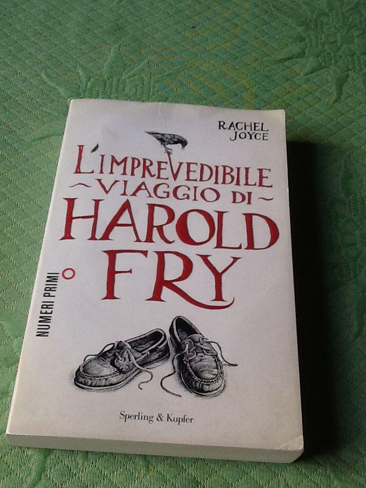 L'imprevedibile viaggio di Harold Fry, di Rachel Joyce - un libro curioso, molto inglese, che narra il lungo cammino di un uomo che insegue un sogno. Intenso, a tratti commovente, lettura molto piacevole.