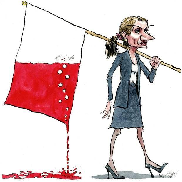 Helle Thorning-Schmidt blevet beskyldt for ikke at føre en ægte rød politik. Foto: Rasmus Sand Høyer