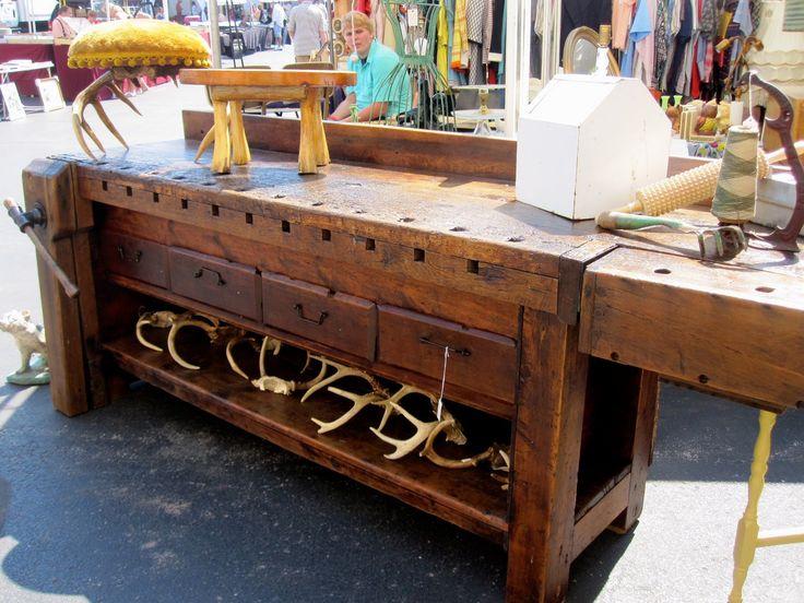 Antique Workbench