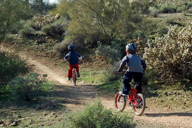 Exploring the Trails of Apache Wash Trailhead in #Phoenix via Staying Native #Cycling