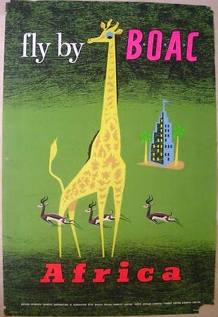 Fly by BOAC* Africa