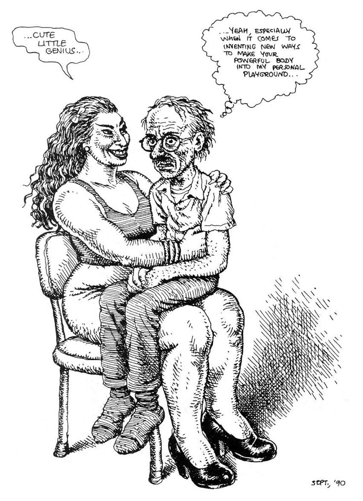 robert crumb with his love lust for strong women such a weird little pervert he is freud would have a good time figuring him out mommy complex maybe