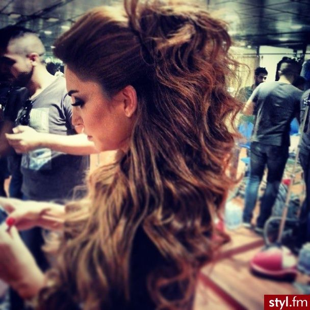 An oversized ponytail is the quickest solution to any bad hair day!