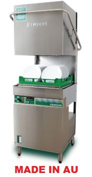 Commercial Eswood ES25 Pass Through Dishwasher | Dishwasher - Kitchen & Catering Equipment