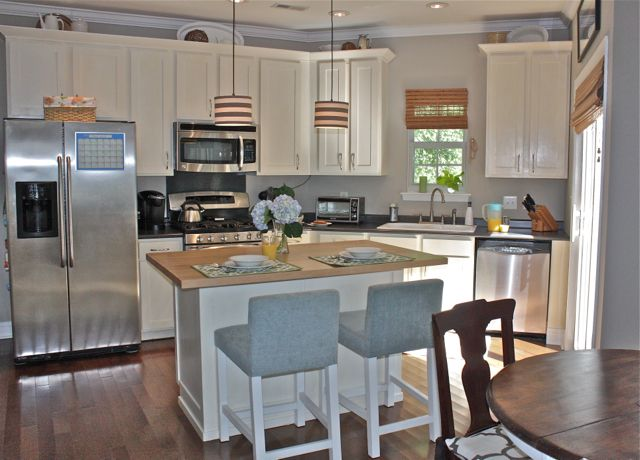 Our Instant Pendant Lights Transform Any Kitchen! Check Out This Beautiful  Update @Angie Monson